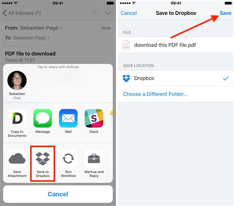 attachment for iphone how to save email attachments to iphone and