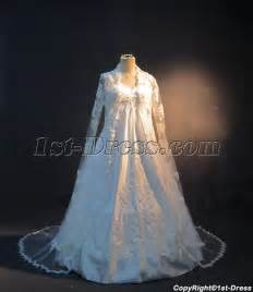 plus size wedding dresses with sleeves or jackets plus size maternity bridal gown with sleeves lace jacket img 3378 1st dress