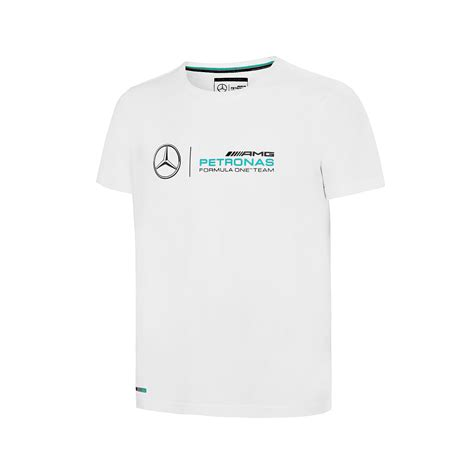 Sportbaby is an official retailer of licensed supporter's wear and branded sports clothes. Mercedes AMG F1 Team Kids Logo T-shirt White | Clothing \ T-shirts Shop by Team \ Formula 1 ...