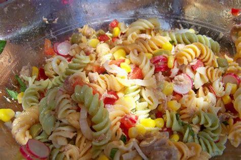 salades de pates froides cuisine en folie ma salade de p 226 tes