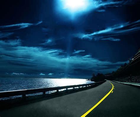 Night-road-wallpaper-desire-hd