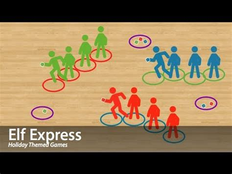 elf express physical education game cooperation youtube