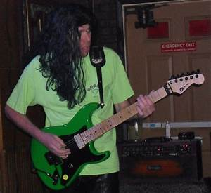 The Life And Death Of Brad And His Candy Green Charvel