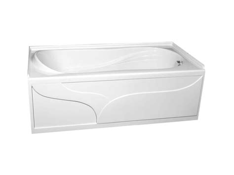 home depot 54x27 bathtub american standard plaza acrylic bathtub the home depot