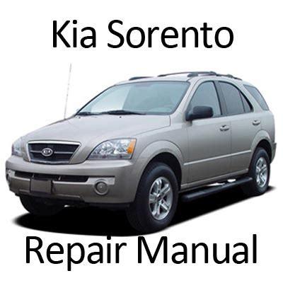 service manual electronic throttle control 2006 kia sorento electronic throttle control kia sorento 2003 2006 repair manual