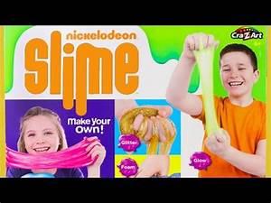 Nickelodeon Slime Super Slimy Set Glow Slime Glitter