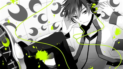 Anime Headphones Wallpaper - anime headphones wallpaper 1600x900 wallpoper