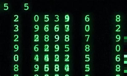 Matrix Numbers Code Alphabet Gifimage