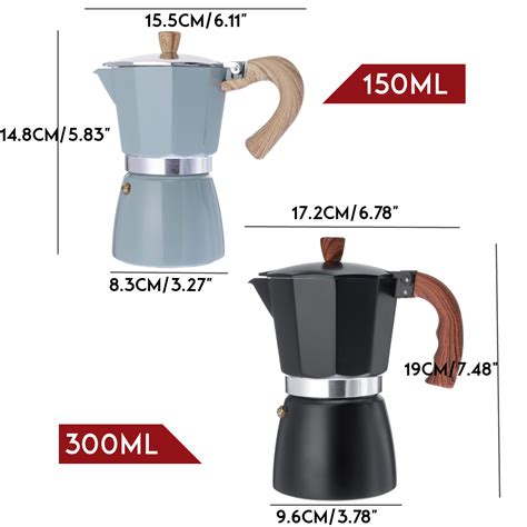 If you have just bought a moka pot, it is better to pour your first two cups of coffee down the drain. 150ml/300ml Italian Espresso Stove Top Coffee Maker ...