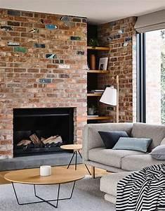 Mur Effet Brique : d co mur effet pierre solutions tendances et id es pour l 39 int rieur ~ Melissatoandfro.com Idées de Décoration