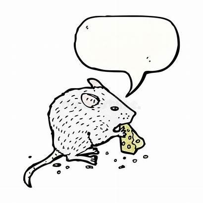 Mouse Cheese Eating Cartoon Mangia Retro Topo