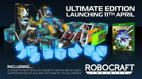 robocraft infinity editions details  trailer released