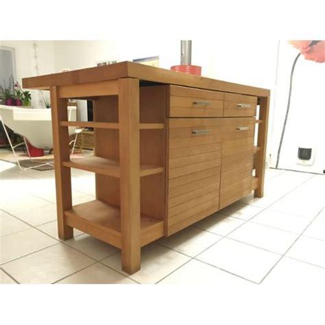meuble cuisine habitat canella ilot de cuisine habitat achat et vente