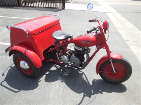 1959 Mustang Motorcycle Deliverycyscle 3- Wheel Trike