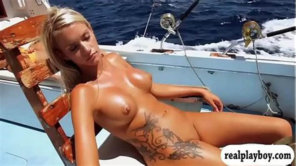 #Hot #Babes #Deep #Sea #Fishing #While #Naked