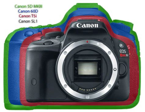 canon ef s 18 55mm f3 5 5 6 iii canon rebel sl1 eos 100d and rebel t5i eos 700d