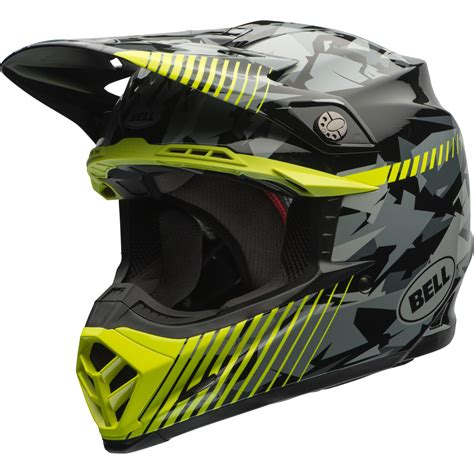 camo motocross bell moto 9 yellow camo motocross helmet off road enduro