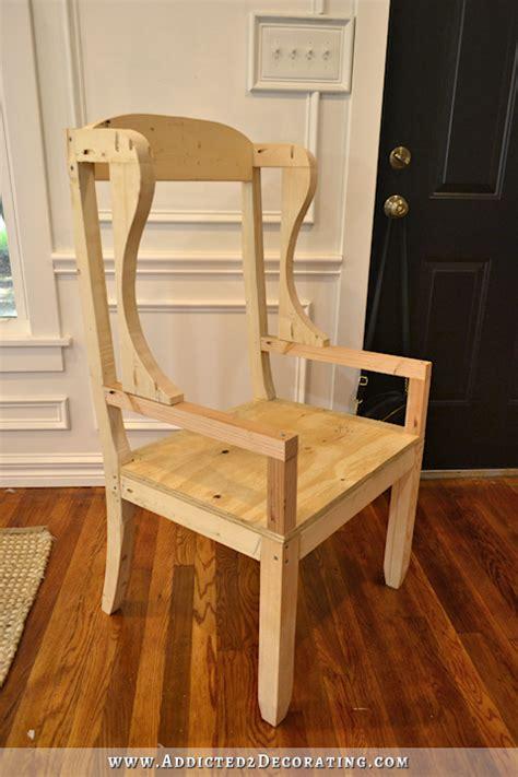 build  diy chair frame farmhouse dining chairs