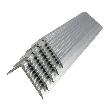 tile stair nosing bunnings metal mate 43 2 x 23mm 3m aluminium section stair nosing