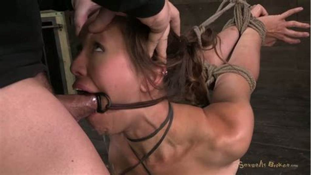 #Two #Dudes #Rope #Audrey #Rose #And #Face #Fuck #Her #Without #Mercy