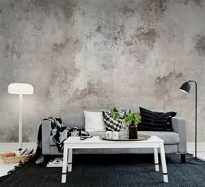 les papiers peints design en 80 photos magnifiques With tapis couloir avec canape contemporain gris