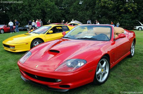 Carbon fiber interior package is outstanding and was included as a factory upgrade at a cost of $8,000. 1999 Ferrari 550 Maranello   conceptcarz.com