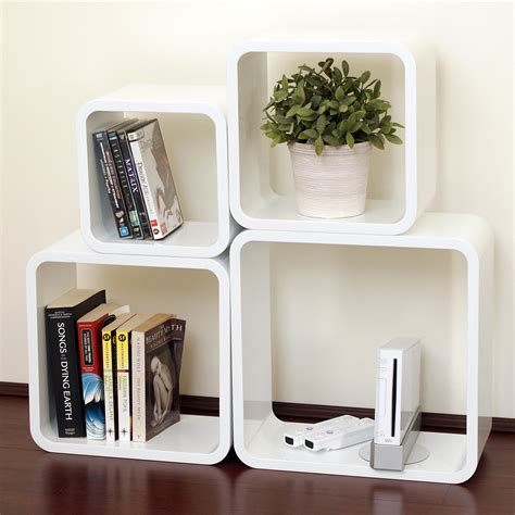 Individual Wall Shelves by Floating White Wall Shelves Best Decor Things