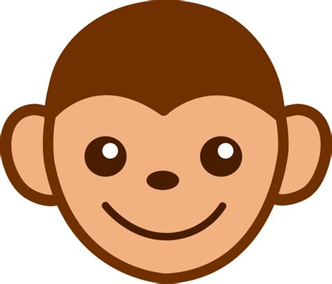 cute monkey face clip art  clip art