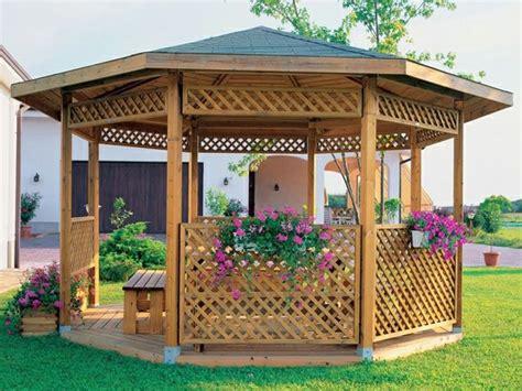 Holzlaube Selber Bauen by 20 Wundersch 246 Ne Gartenlauben Garten Pergola Jardins