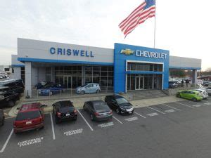Criswell Chevrolet Gaithersburg  Myers Building Systems