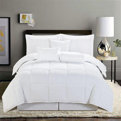 28 best all white comforter set space living grace 8