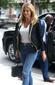 Heidi Klum Skinny Jeans Out New York Gotceleb