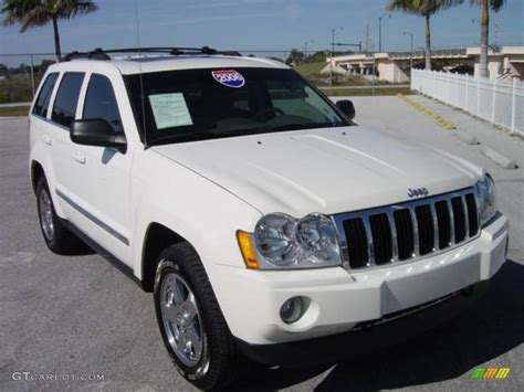 white jeep grand cherokee 2006 stone white jeep grand cherokee limited 4x4 1248876