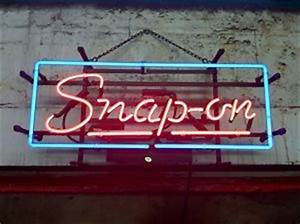 Snap Neon Sign
