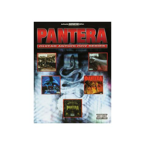 pantera shedding skin bass tab sheet song books hal leonard pantera anthology