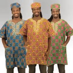 Traditional African Dashiki Men