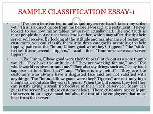 Classification essay thesis outline for definition essay ...