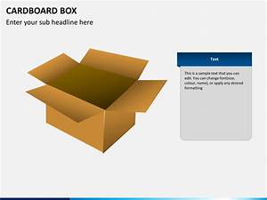 Cardboard Box Powerpoint Template