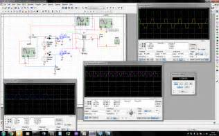 power supply multisim feeding sine wave  mosfet