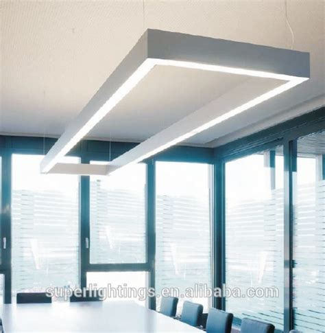 aluminum extrusion led linear lighting fixture for
