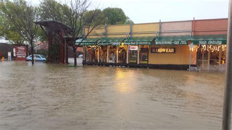healdsburg merchants inspect flood damage downtown cbs