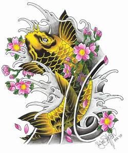 Koi Tattoo Vorlagen : koi tattoo ideas and koi tattoo designs page 17 ~ Frokenaadalensverden.com Haus und Dekorationen