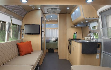 Eddie Bauer Airstream Travel Trailer Offers Rugged Outdoor
