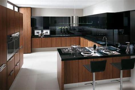 decoracion  cocinas en color negro