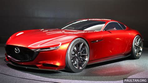 New Mazda Rotary 2017 by Tokyo 2015 Mazda Rx Vision New Rotary Concept Image 398988