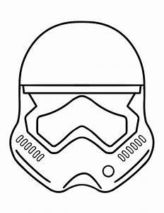 stormtrooper coloring page - stormtrooper helmet coloring thekindproject