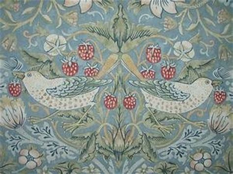 sandersons william morris strawberry thief slate curtain