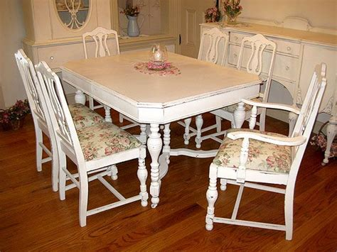 shabby chic dining room table and chairs dining table shabby chic dining table and chairs