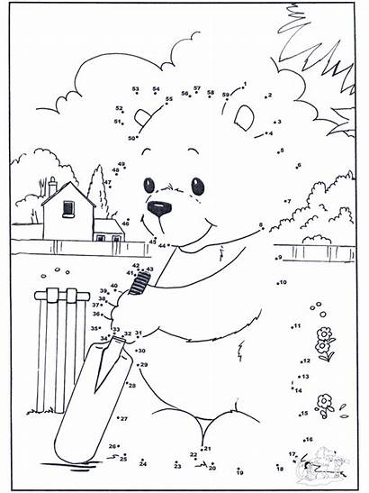 Dots Connect Bear Relier Chiffre Dessin Number
