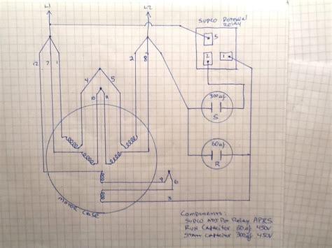 230v Single Phase Vfd Wiring Diagram by Two Phase Motor Wiring Diagram Impremedia Net